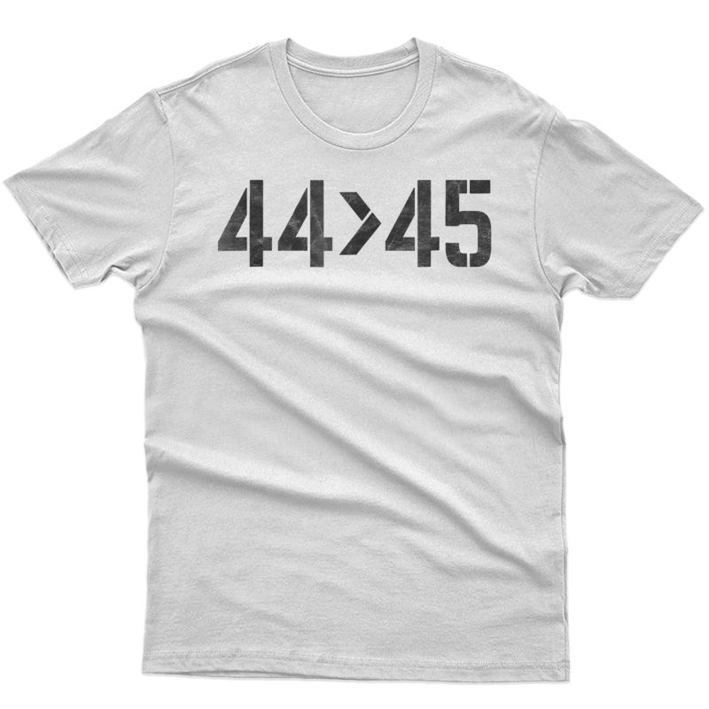 44 Is Greater Than 45 Anti-trump Vintage Math T