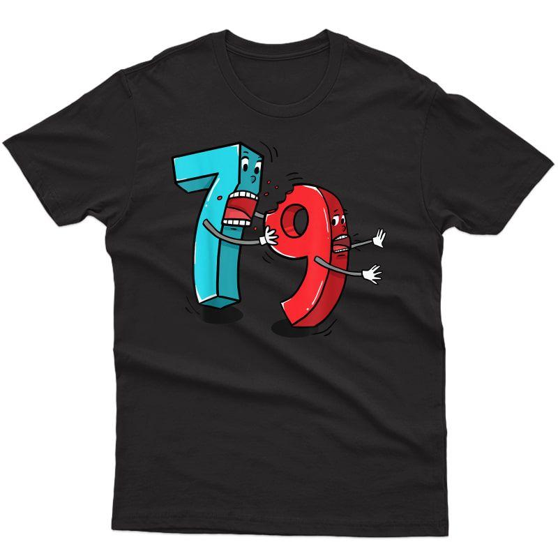 7 Ate (8) 9 Funny Math T Shirt