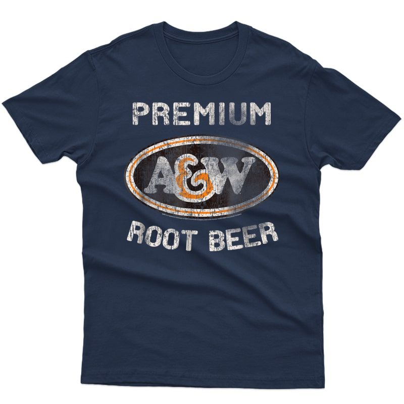 A&w Root Beer Logo T-shirt | Classic Look Style 18835