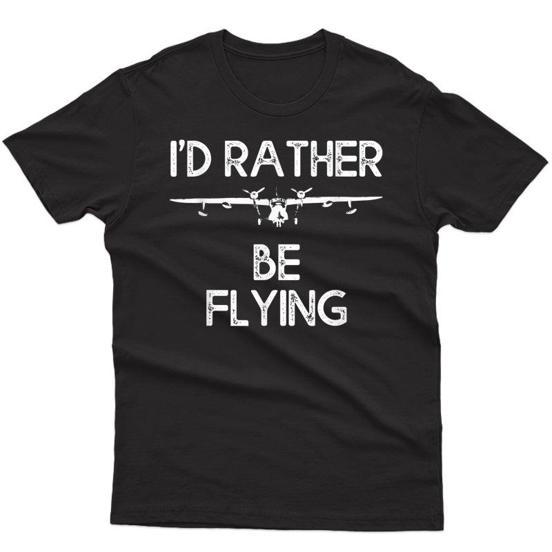 Airplane Decoration Aviation Decor Aviation Quotes Pilot Bag T-shirt