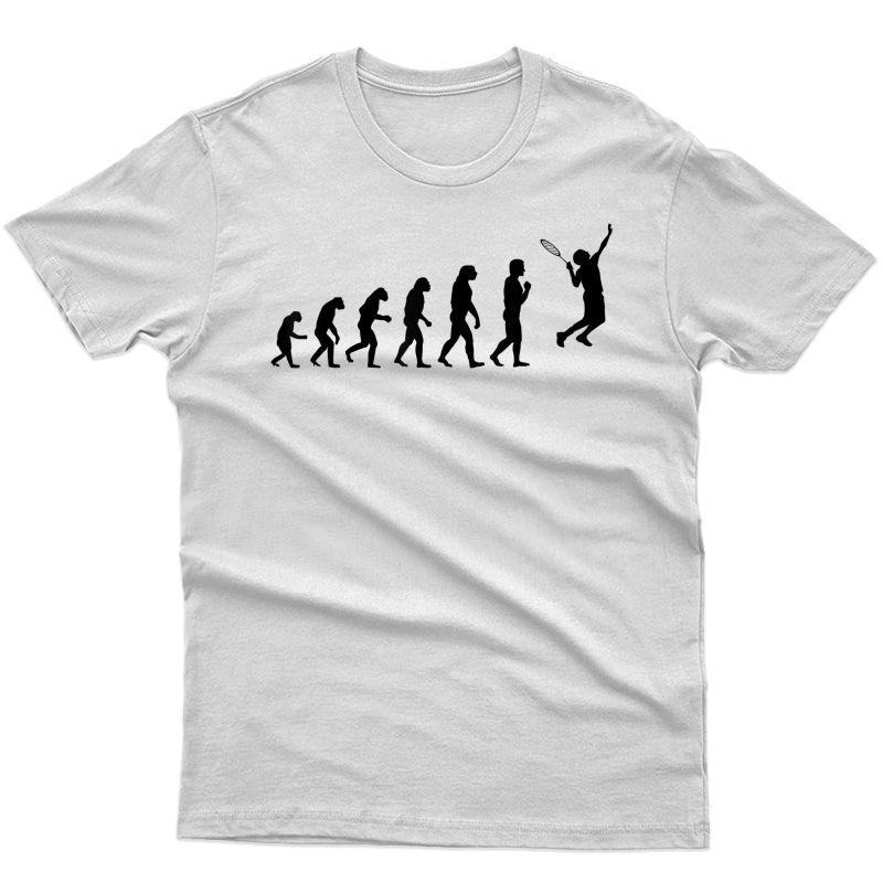 Evolution Of Tennis Shirt   Cute I Love Lawn Tennis Tee Gift