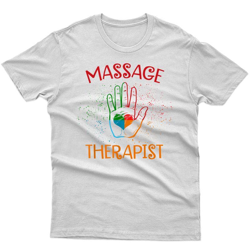 Funny Muscle Whisperer Massage Physical Therapist T-shirt