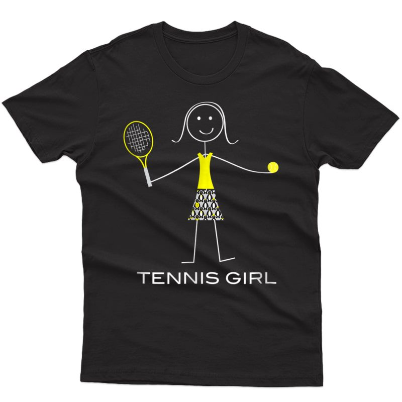 Funny Tennis T-shirt For , Tennis Player Gifts For Girl