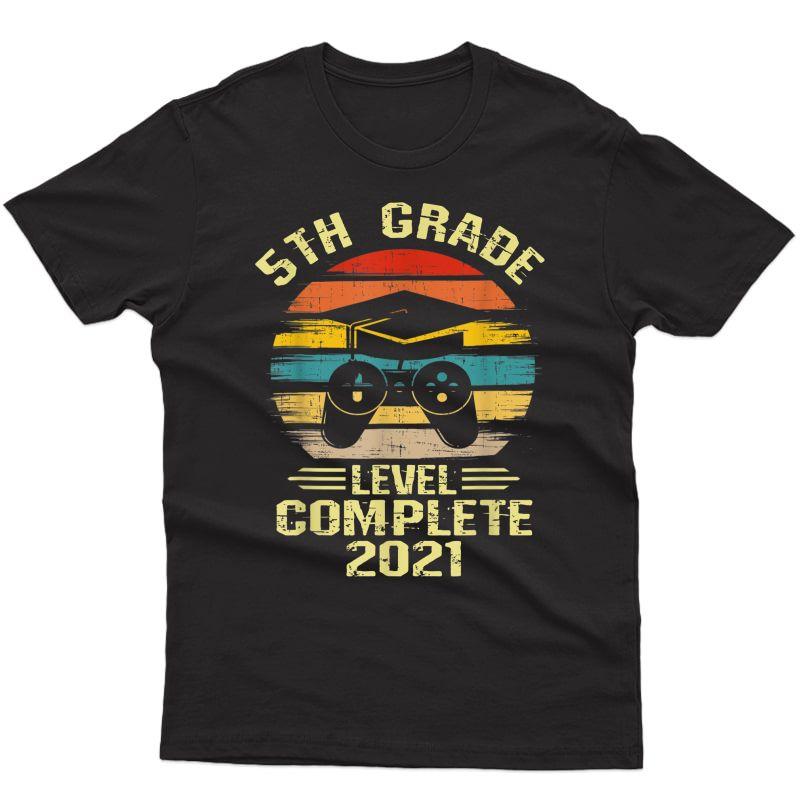 Gamer 5th Grade Graduation Gifts For Girls, 2021 T-shirt