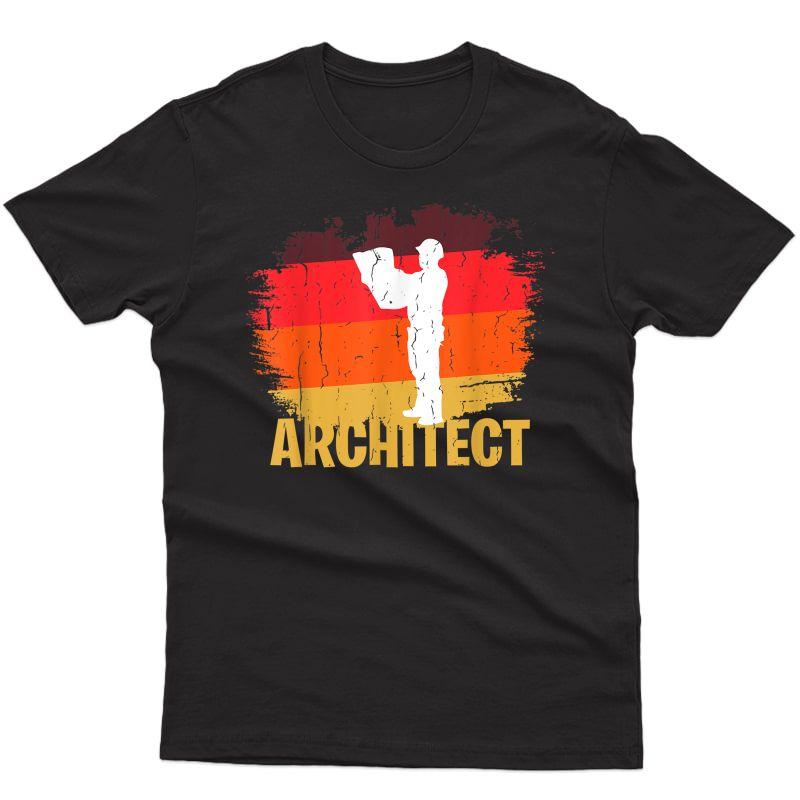 Hipster Architect Design T-shirt