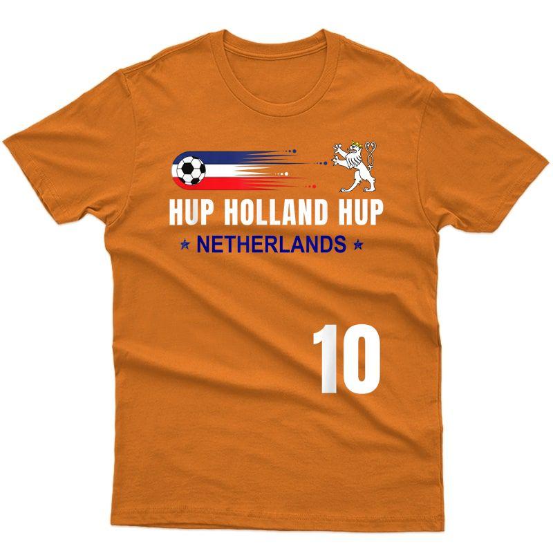 Holland Netherlands Soccer Dutch Football T-shirt