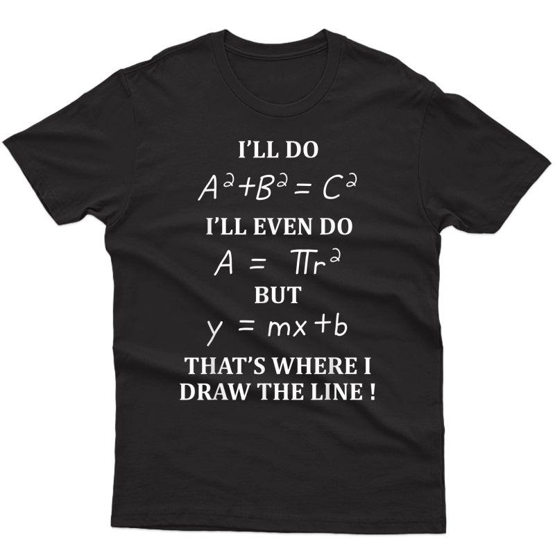 Math Formula Tshirt Graduation Teas Students Gifts