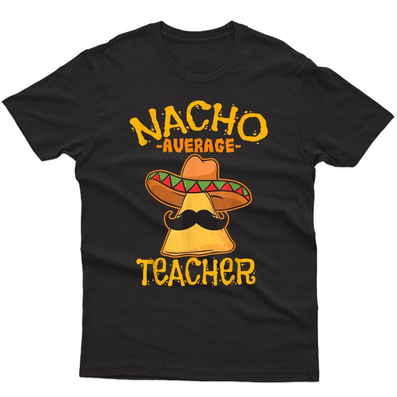 Tea Educator Instructor Cinco De Mayo T-shirt