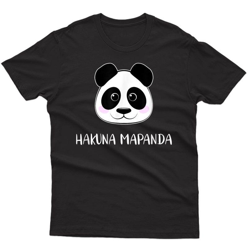 Panda Bear I Hakuna Mapanda T-shirt
