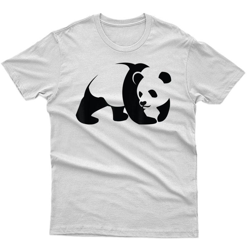 Panda Clothes For Girls T-shirt