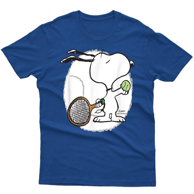 Peanuts Snoopy Tennis Shirts