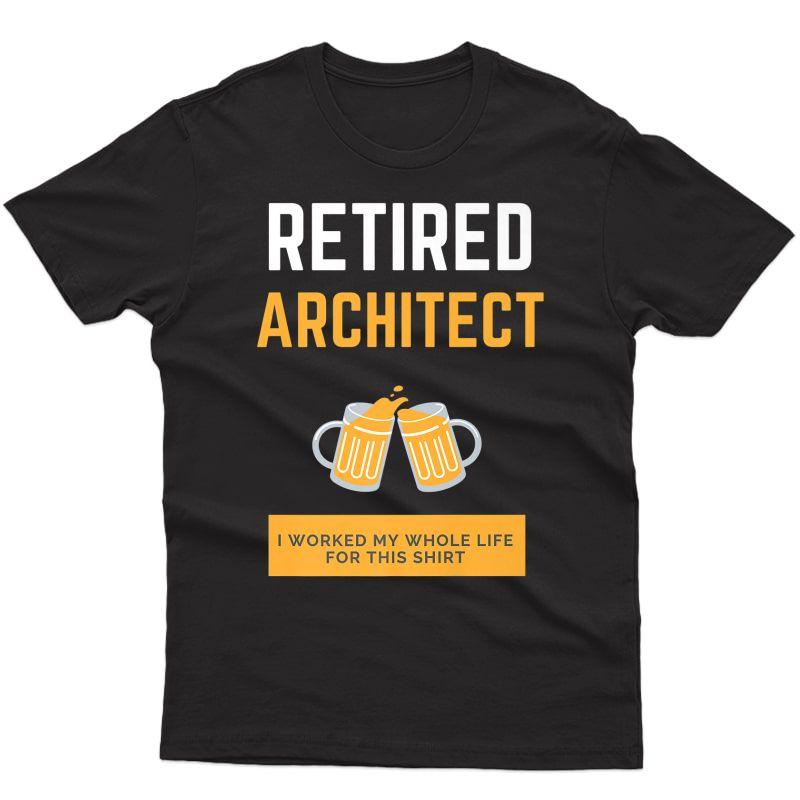 Retired Architect Premium T-shirt