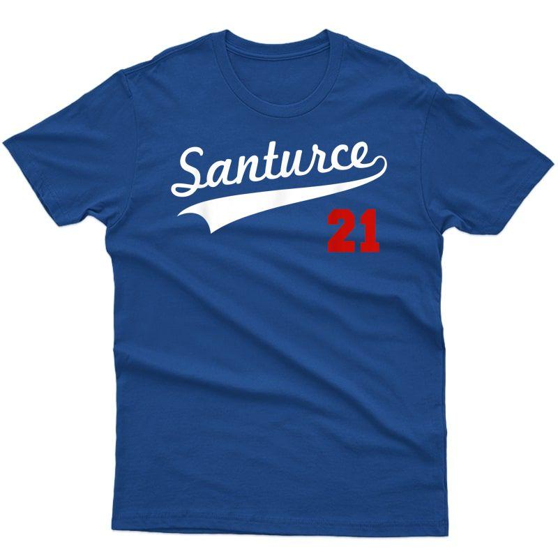 Santurce 21 Puerto Rico Baseball Boricua T-shirt