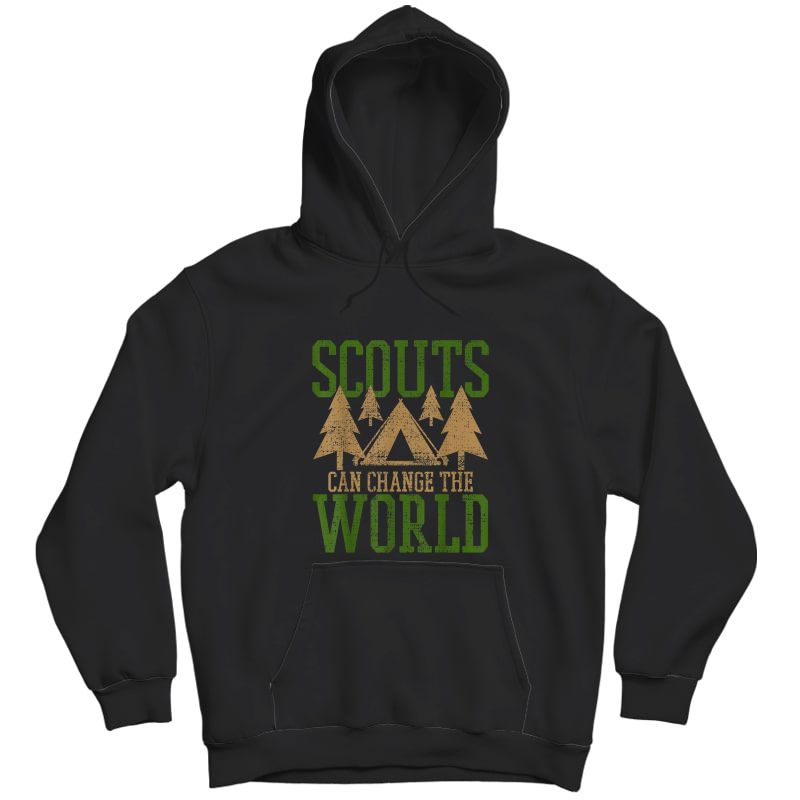 Scout Scouts Camp Leader Hiking Hike Camping T-shirt Unisex Pullover Hoodie