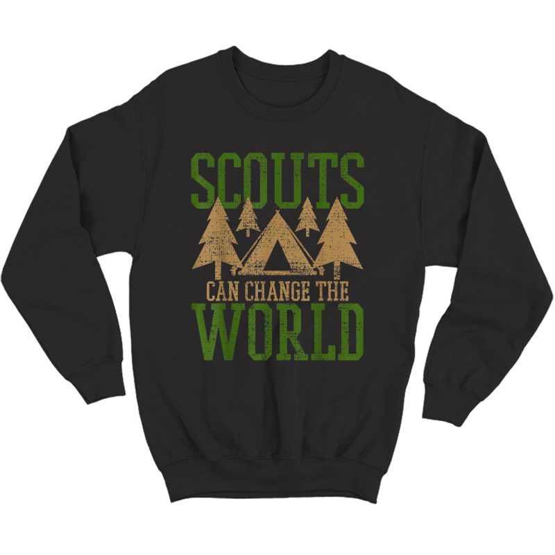 Scout Scouts Camp Leader Hiking Hike Camping T-shirt Crewneck Sweater