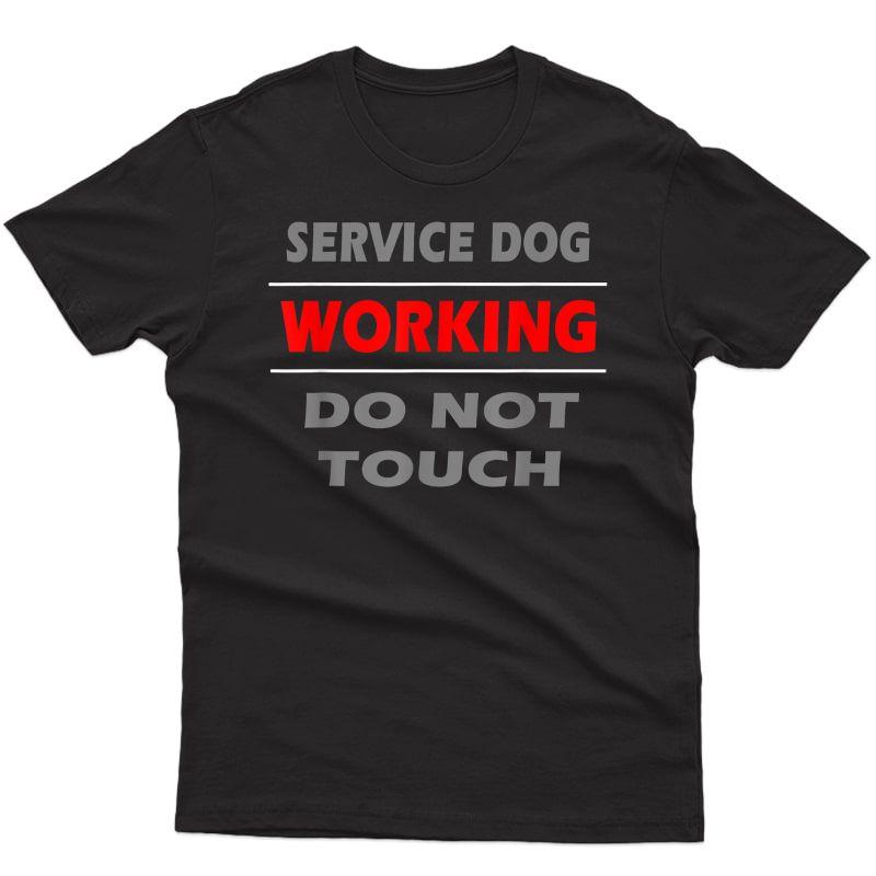 Service Dog Trainers T Shirt Dog Handler Gift