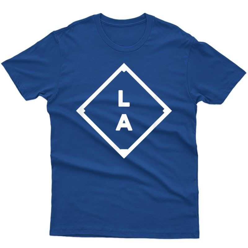 Vintage Los Angeles Baseball Field T-shirt