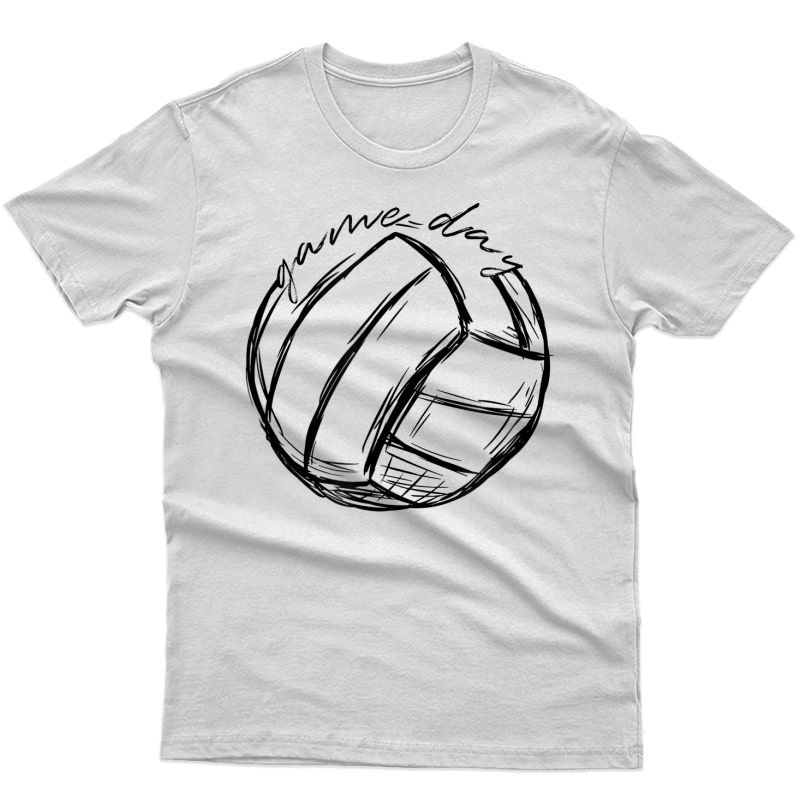 Volleyball Game Day Shirts Gifts For Volleyball Lovers T-shirt